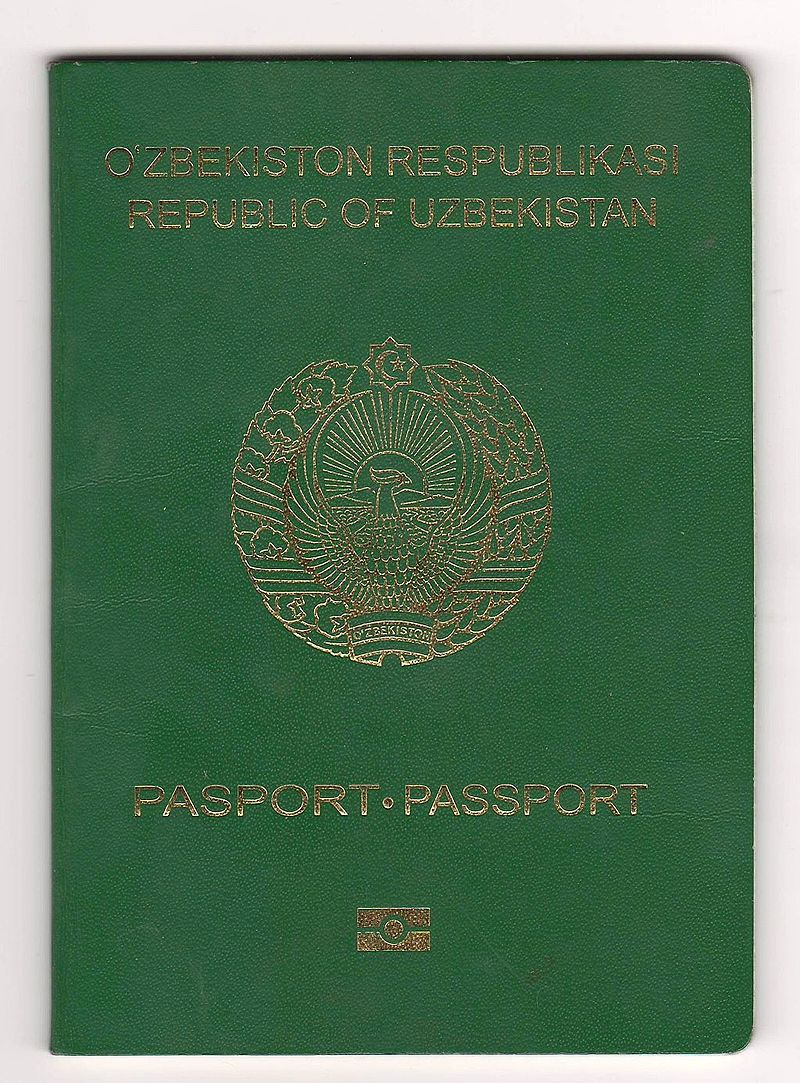 Passport_of_citizen_of_Uzbekistan._Cover
